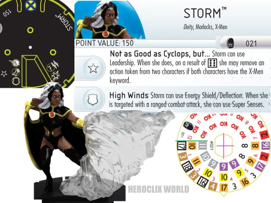 HeroClix Storm dial Days of Future Past