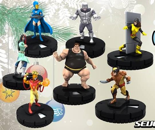 Free Comic Book Day Heroclix: 12 Days Of Clixmas (2013