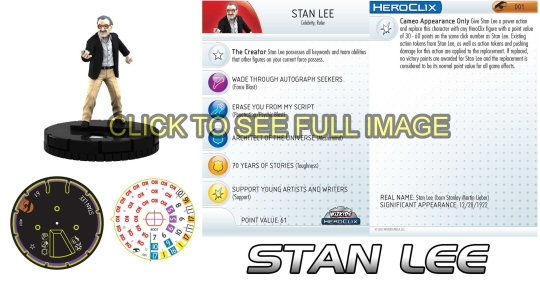 HeroClix Stan Lee Convention
