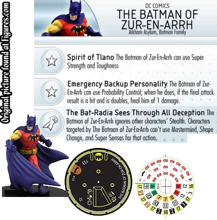 HeroClix Batman LE Figure