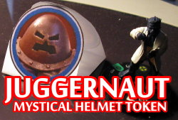 Juggernaught Mystical Helmet Tokens HeroClix