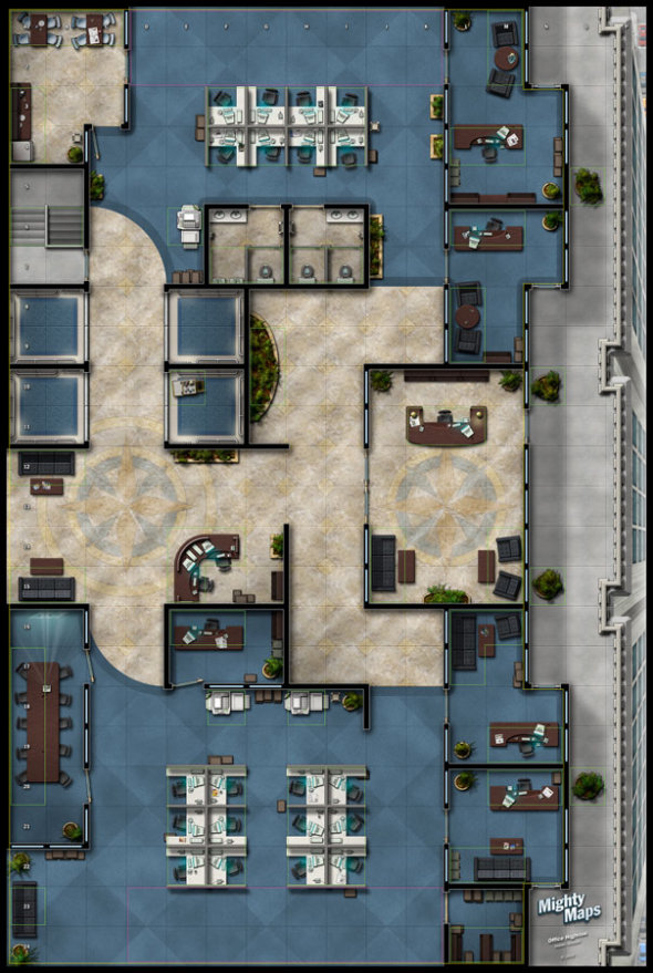 Heroclix World Might Maps 4 Urban Pack