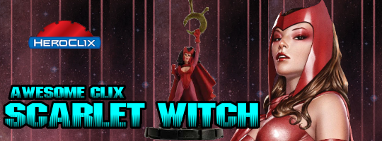 Awesome Clix: Scarlet Witch HeroClix Dial