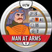 HeroClix World Bystander Man At Arms
