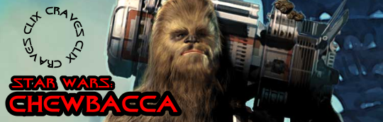 Clix Craves: Star Wars Chewbacca Dial