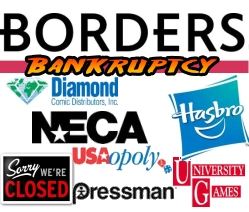Borders Bankruptcy Effect