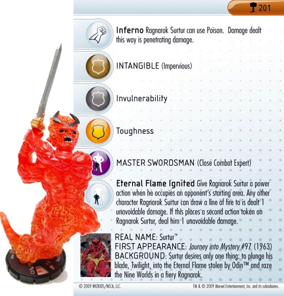 heroclix world hammer of thor sneak peek images