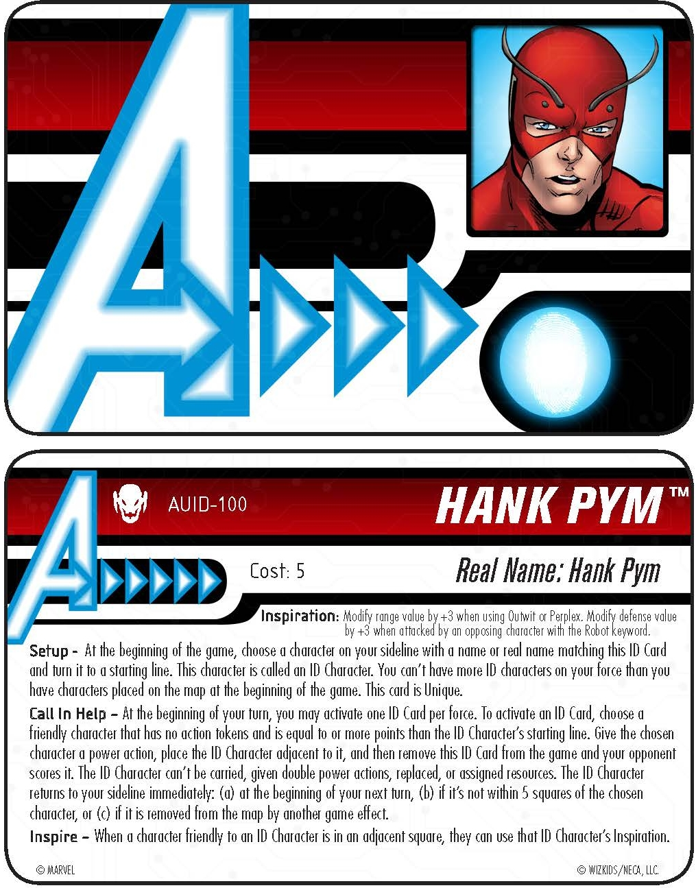 heroclix world carded at the door hank pym