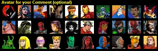 HeroClix comment Avatars