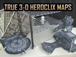 HeroClix Battle Boards