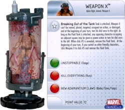HeroClix Weapon x Captain America