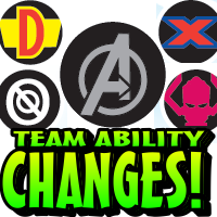 HeroClix Team Ability Changes 2012