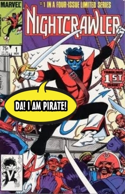 Nightcrawler Pirate HeroClix World