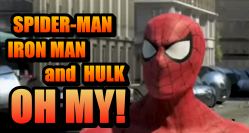 HeroClix Spider-Man Hulk Iron Man Oh My!