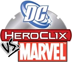 HeroClix DC vs Marvel logo