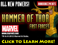 HeroClix Online Hammer of Thor Fast Forces