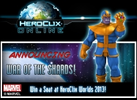 HeroClix Online War of the shards