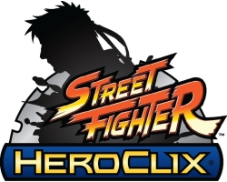 Street Fighter HeroClix Logo