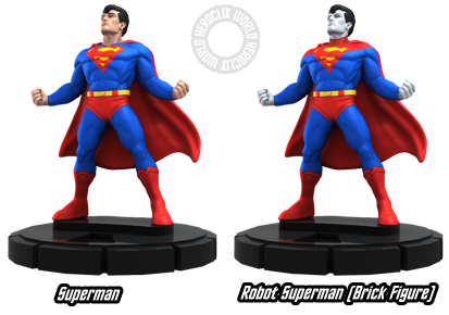HeroClix Superman Robot Superman