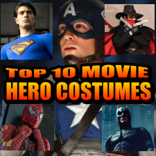 HeroClix World Top 10 Movie Super Hero Costumes
