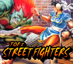 Top 5 Street Fighters