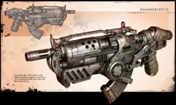 Gears of War Hammerburst