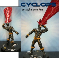 HeroClix Cyclops Custom
