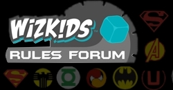 HeroClix Official Rules Forum (Wizkids)