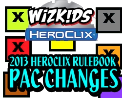 HeroClix PAC changes 2013