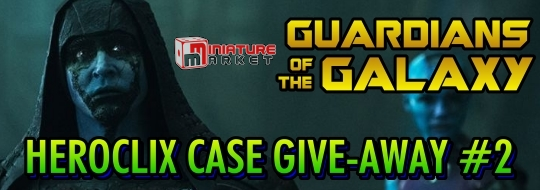 HeroClix Guardians of the Galaxy Miniature Market Give-Away
