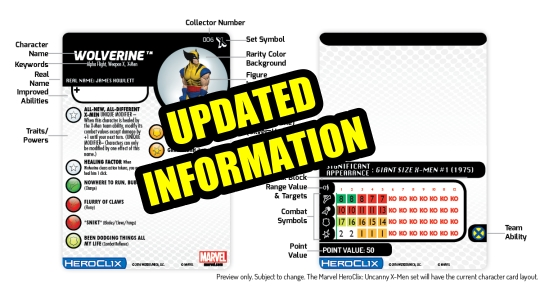 HeroClix New Card update