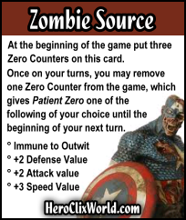 Marvel Zombies HeroClix Card